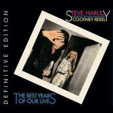 Steve Harley & Cockney Rebel: The Best Years Of Our Lives (Definitive-Edition), 3 CDs