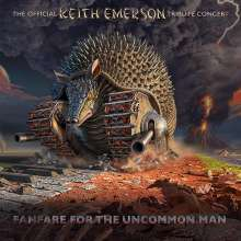 Fanfare For The Uncommon Man: Keith Emerson Tribute, 2 CDs und 2 DVDs