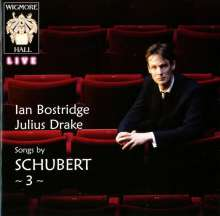 Franz Schubert (1797-1828): Lieder (Wigmore Hall Live Vol.3), CD