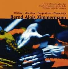 Bernd Alois Zimmermann (1918-1970): Dialoge f.2 Klaviere & großes Orchester, CD