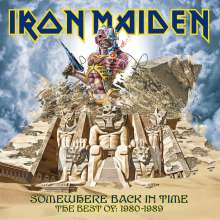 Iron Maiden: Somewhere Back In Time: The Best Of 1980-1989 (Picture Disc), 2 LPs