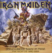 Iron Maiden: Somewhere Back In Time: The Best Of 1980 - 1989, CD