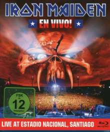 Iron Maiden: En Vivo! Live In Santiago De Chile 2011 (Limited-Edition), Blu-ray Disc