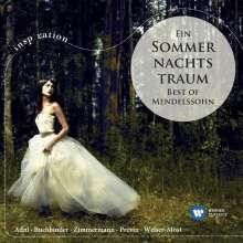 Felix Mendelssohn Bartholdy (1809-1847): Ein Sommernachtstraum - Best of Mendelssohn, CD