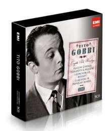 Tito Gobbi - Complete Solo Recordings (Icon Series), 5 CDs