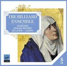 Hilliard Ensemble, 8 CDs
