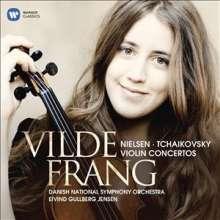 Vilde Frang spielt Violinkonzerte, CD