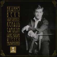 Renaud Capucon - Brahms/Berg, CD