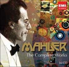 Gustav Mahler (1860-1911): Sämtliche Werke (The Complete Works/Warner), 16 CDs