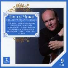 Truls Mork - Great Cello Concertos, 9 CDs