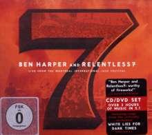Ben Harper: Live From The Montreal International Jazz Festival 2009 (CD + DVD), 1 CD und 1 DVD