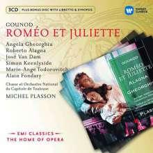 Charles Gounod (1818-1893): Romeo & Juliette, 3 CDs