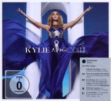 Kylie Minogue: Aphrodite (Experience Edition CD + DVD), 1 CD und 1 DVD