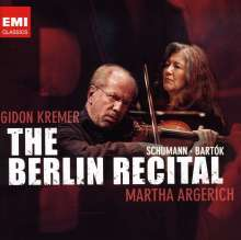 Gidon Kremer & Martha Argerich - The Berlin Recital, 2 CDs