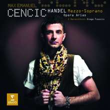 Max Emanuel Cencic - Händel Mezzo-Soprano Opera Arias, CD