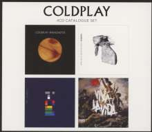 Coldplay: 4 CD Original (Limited Edition), 4 CDs