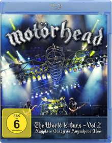 Motörhead: The Wörld Is Ours Vol.2: Anyplace Crazy As Anywhere Else (Live 2011), Blu-ray Disc