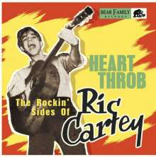 "Ric Cartey: Heart Throb - The Rockin' Sides Of Ric Cartey, Single 10"""
