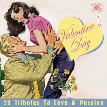 Valentine's Day: 29 Tributes To Love & Passion, CD