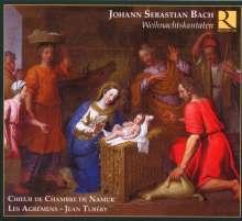 Johann Sebastian Bach (1685-1750): Kantaten BWV 64,121,133 (Weihnachtskantaten), CD
