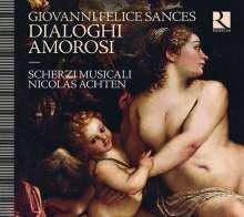 Giovanni Felice Sances (1600-1679): Dialoghi Amorosi, CD