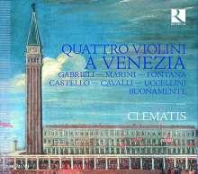 Quattro Violini A Venezia, CD