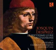 Josquin Desprez (1440-1521): Le Septiesme Livre de Chansons, CD