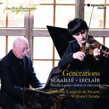 Jean Baptiste Senaille (1687-1730): Violinsonaten op.1 Nr.5 & 6; op.3 Nr.10; op.4 Nr.5, CD