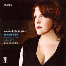 Marie-Nicole Lemieux - Les nuits d'ete, CD