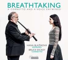 Hana Blazikova – Breathtaking, A Cornetto And A Voice Entwined, CD