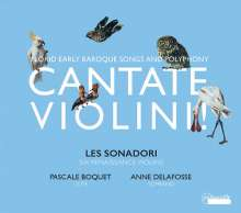 Cantate Violini!, CD