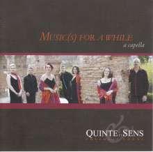 Quintet et Sens - Music(s) For A While, CD