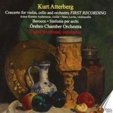 Kurt Atterberg (1887-1974): Konzert für Violine, Cello & Orchester, CD