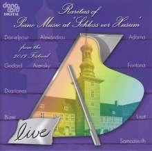 Rarities of Piano Music at »Schloss vor Husum« 2019, CD