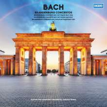 Johann Sebastian Bach (1685-1750): Brandenburgische Konzerte Nr.1,2,6 (180g), LP