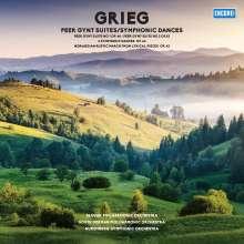 Edvard Grieg (1843-1907): Peer Gynt-Suiten Nr.1 & 2 (180g), LP