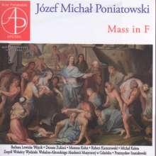 Jozef Michal Poniatowski (1816-1873): Messe F-Dur, CD
