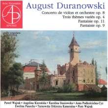 August Duranowski (1770-1834): Violinkonzert op.8, CD