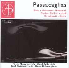 Passacaglias, CD