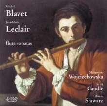 Jean Marie Leclair (1697-1764): Flötensonaten Nr.2,6,7, CD