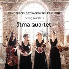Atma Quartet - Penderecki / Szymanowski / Panufnik, CD