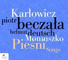Mieczyslaw Karlowicz (1876-1909): Lieder, CD