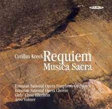 Cyrillus Kreek (1889-1962): Requiem, CD