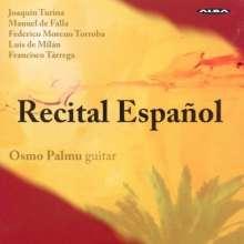 Osmo Palmu - Recital Espanol, CD