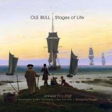 """Ole Bull (1810-1880): Werke für Violine & Orchester / Klavier - Stages of Life"""", 1 Super Audio CD und 1 Blu-ray Audio"""
