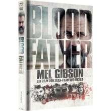 Blood Father (Blu-ray im Mediabook), 1 Blu-ray Disc und 1 DVD