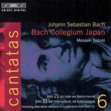 Johann Sebastian Bach (1685-1750): Kantaten Vol.6 (BIS-Edition), CD