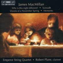 James MacMillan (geb. 1959): Streichquartette Nr.1 & 2, CD