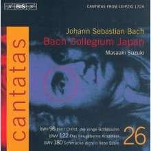 Johann Sebastian Bach (1685-1750): Kantaten Vol.26 (BIS-Edition), CD