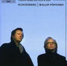 Arnold Schönberg (1874-1951): Werke für Violine & Klavier, CD